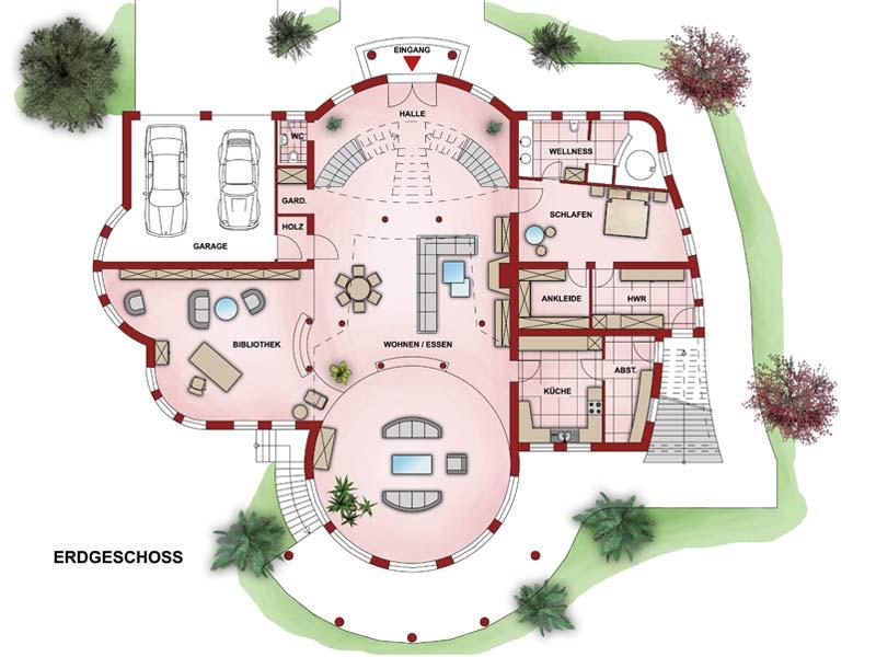 Immobilien luxus villa grundriss  Charisma Haus - Villa Exklusiv